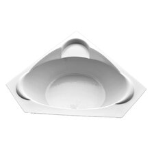 60 x 60 Corner Salon Spa Air/Whirlpool Tub by American Acrylic