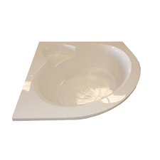 60 x 60 Round Front Corner Soaking Tub by American Acrylic