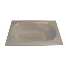 72 x 42 Arm-Rest Soaking Tub by American Acrylic