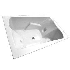 71 x 48 Arm-Rest Salon Spa Soaking Tub by American Acrylic