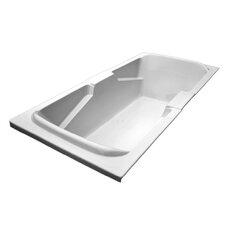 72 x 36 Arm-Rest Soaking Tub by American Acrylic