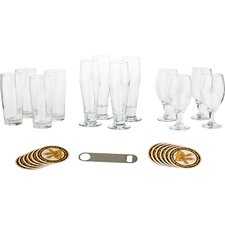 Craft Brews 25 Piece Glass Set