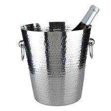 Admiral Hammered Metal Ice Bucket