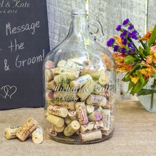 Personalized Wishes in a Bottle Guest Book
