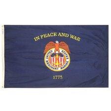Nyl-Glo Merchant Marine Traditional Flag