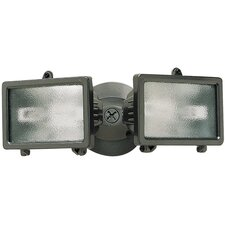 150 Watt Twin Halogen Security Flood Light