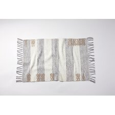 Ano Nuevo Hand-Knotted Pewter/Dune Area Rug