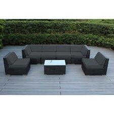 Ohana 7 Piece Deep Seating Group with Cushion