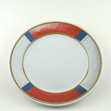 "Decorated 10"" Melamine Life Preserver Non-skid Dinner Plate (Set of 4)"