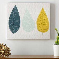World of Leaves Wall Art on Canvas