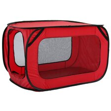 Mesh Canvas Collapsible Yard Kennel