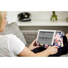 Floral Cushion E-Reader Tablet Holder