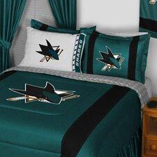 NHL San Jose Sharks Sidelines Comforter