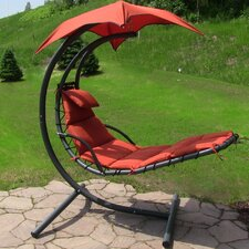 Chaise Lounger with Cushion