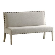 Rive Gauche Upholstered Dining Bench by French Heritage