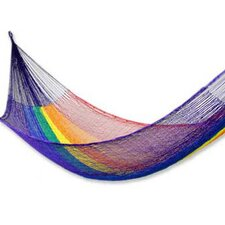 Maya Artists of the Yucatan Nylon Tree Hammock
