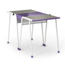 "A&D Wood 28"" Multi-Student Desk"