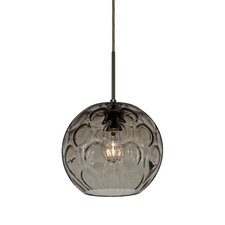 Bombay 1-Light Mini Globe Pendant