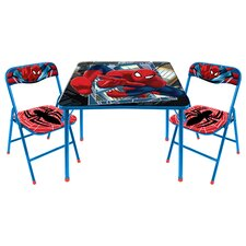 Kids 3 Piece Table and Chair Set by Idea Nuova