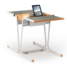 "A&D Wood 30"" Multi-Student Desk (Set of 2)"