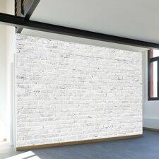 """Washed Brick 96"""" Wall Mural"""