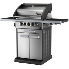 Icon 3-Burner Propane Gas Grill with Side Burner