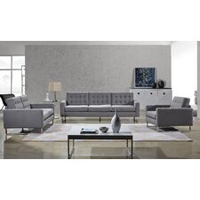 Angela Sofa, Loveseat and Chair Set