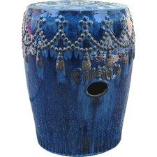 Lahjar Drum Ceramic Garden Stool by Bungalow Rose
