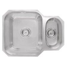 Sorrel 58cm x 45cm 1.5B Reversible Undermount Kitchen Sink