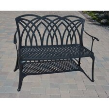 Wessex Cast Aluminum Garden Bench by DHC Furniture