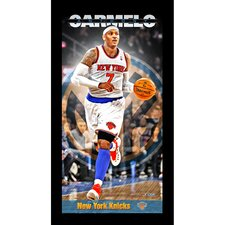 Player Profile Framed Graphic Art