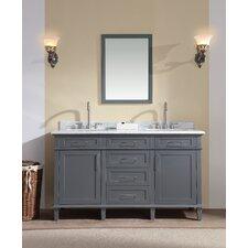 Newport 60 Double Bathroom Vanity Set by Ari Kitchen & Bath