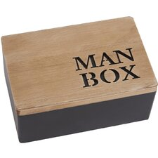 Mode Man Manufactured Wooden Box