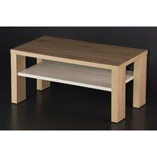 Aurand Wood Coffee Table with Shelf by Latitude Run