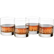Perfect Whiskey Deco (Set of 4)