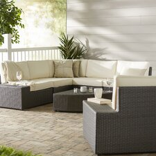 Zachary Laurel Creek 7 Piece Seating Group with Cushion by Latitude Run