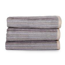 Redwood Stripe Jacquard Cotton Bath Sheet