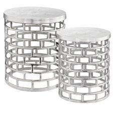 Ladrillo 2 Pieces Nesting Tables by Modern Day Accents