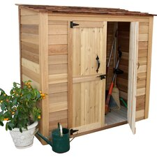 Garden Chalet 6.25 ft. W x 3.04 ft. D Wood Lean-To Tool Shed