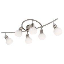 Volles Schienenbeleuchtungsset 6-flammig Loxy