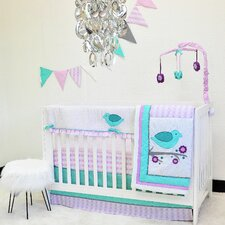 Lovebirds 10 Piece Crib Bedding Set by Pam Grace Creations