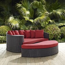 Convene Outdoor Patio Daybed with Cushions