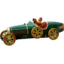 Collectible Tin Toy Racer Car