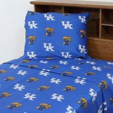 NCAA Kentucky Sheet Set