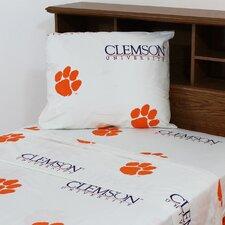 NCAA Clemson Sheet Set