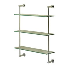 Essentials 3 Tier 20 W Wall Shelf by Valsan