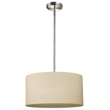 Albion 3-Light Drum Foyer Convertible Pendant