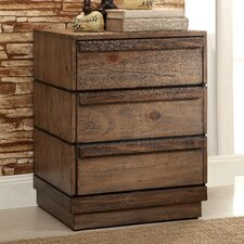 Elliston 2 Drawer Nightstand by Loon Peak