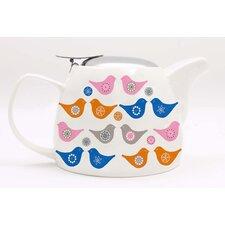 Love Birds 0.75L Porcelain Teapot