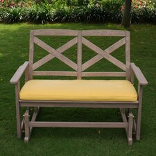 Porto Glider Bench with Cushions